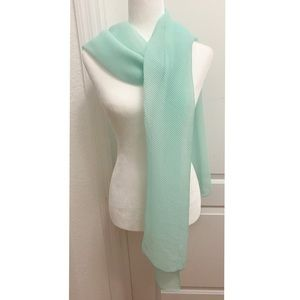 Beautiful Sheer Turquoise colored wrap